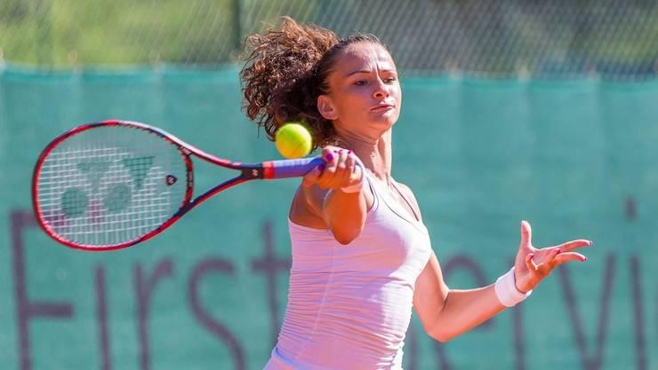 Die Tennisspielerin aus Birr legt ein beeindruckendes Comeback hin. Jetzt gibt Amra Sadikovic in den USA Gas.