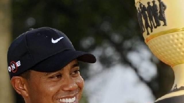 70. Turniersieg für Tiger Woods