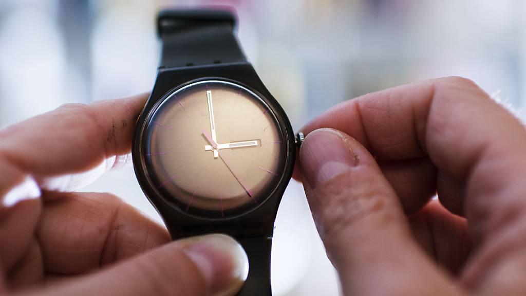 Uhren werden am Sonntag um eine Stunde vorgestellt