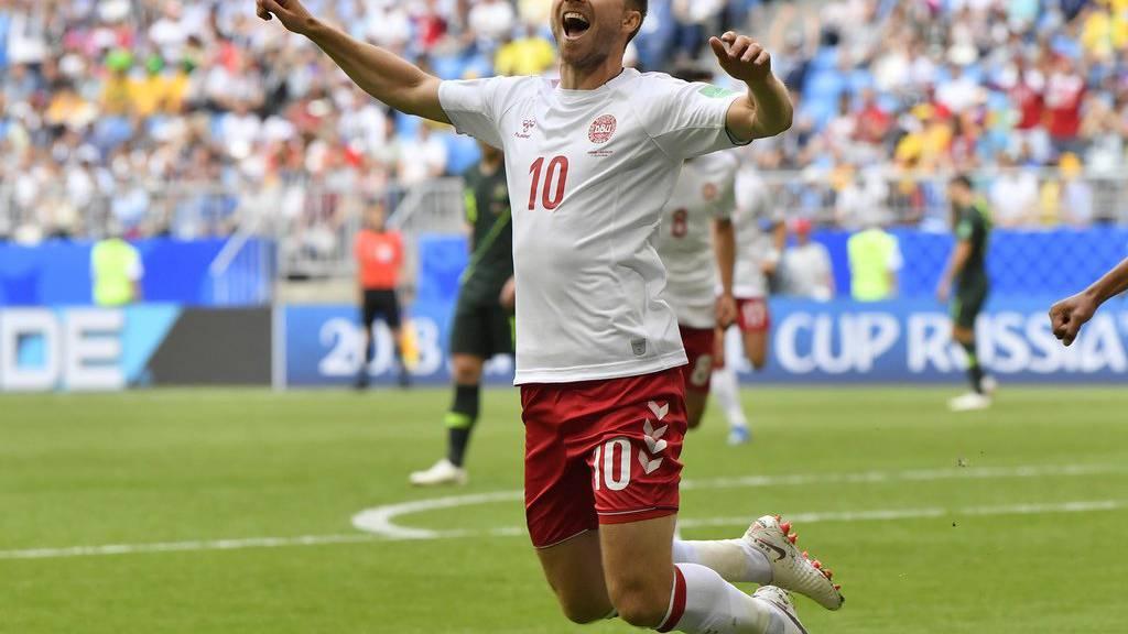 Spurs-Star Christian Eriksen und die Dänen brauchen nur einen Punkt.