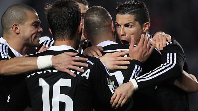 Standesgemässer Auswärtssieg für Tabellenführer Real Madrid