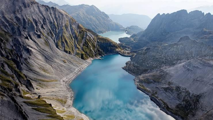 Ein Jahrhundertprojekt: Das Pumpspeicherkraftwerk Nant de Drance im Wallis soll 2018 mit Verspätung in Betrieb gehen