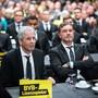 Trainer Lucien Favre und Sportdirektor Michael Zorc bilden bei Borussia Dortmund ein erfolgreiches Duo