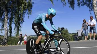 Pello Bilbao bescherte dem kasachischen Team Astana den Etappensieg in l'Aquila