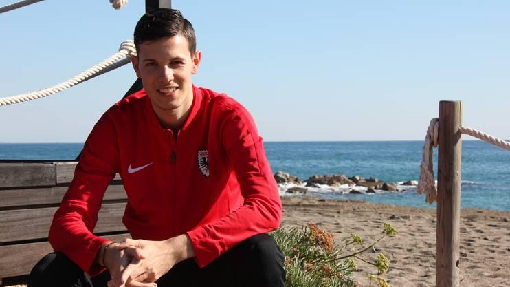 Tim Hemmi unterschrieb vor wenigen Monaten einen Profivertrag bis Ende Saison beim FC Aarau.