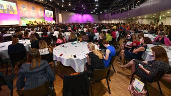 Anfang Juli fand im Kongresszentrum der «Global Summit of Women» statt. Grosse Kongresse wie dieser häufen sich in Basel.