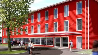 So soll das Business-Hotel «Allegro» aussehen. Gemäss Bauherrschaft kann darin zu vernünftigen Preisen gepflegt übernachtet werden. Swiss Hotel und Spa AG (SHS)