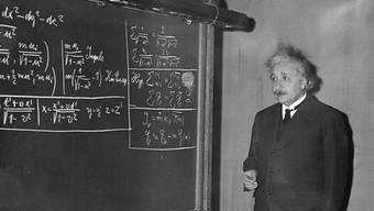 Albert Einstein lobte die Schweiz (Archiv)