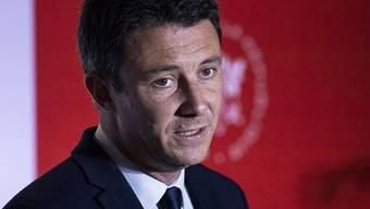 Der ehemalige Pariser Bürgermeister-Kandidat und Macron-Vertraute Griveaux hat nach einem Eklat um anzügliche Videos Strafanzeige eingereicht.  Archivbild)
