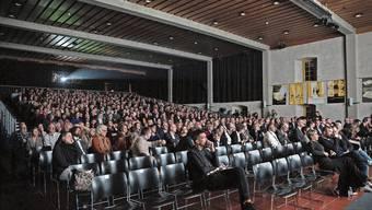 Ein Bild, das es 2021 nicht geben wird: Volle Ränge bei der Abschlussveranstaltung der Solothurner Filmtage letzten Winter im Landhaus.