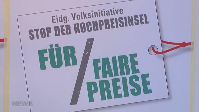 Bundesrat stellt Gegenvorschlag zu Fair-Preis-Initiative vor