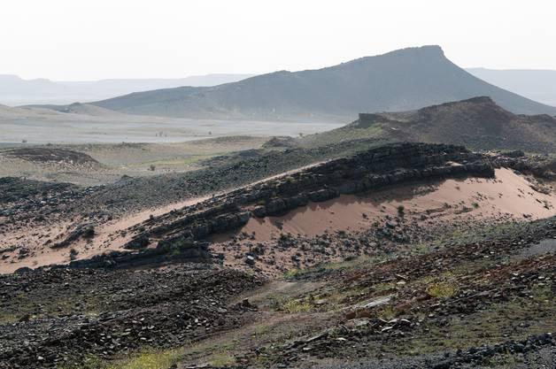 Stauffer reiste anlässlich einer Lehrexkursion des Paläontologischen Instituts nach Marokko