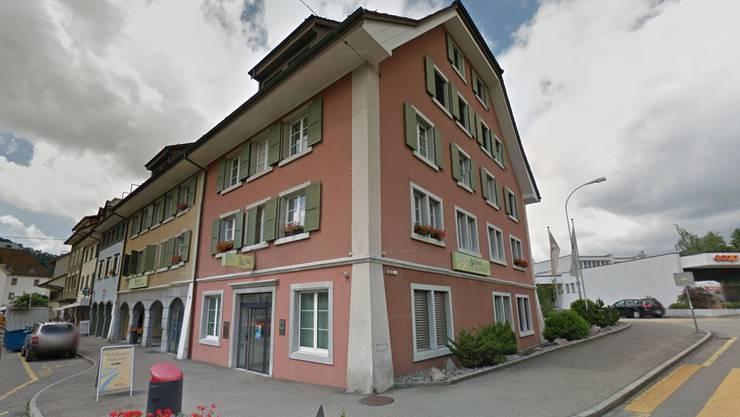Standort der Clientis Bank im Thal in Balsthal.