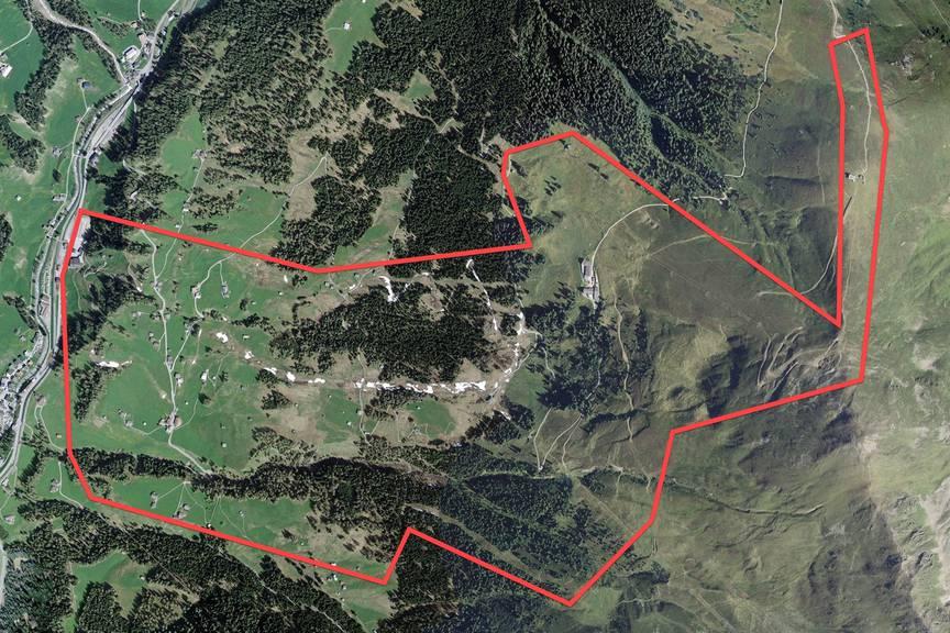 Im Skiegebiet Rinerhorn werden die Beschneiungsanlagen ausgebaut. (Bild: pd)
