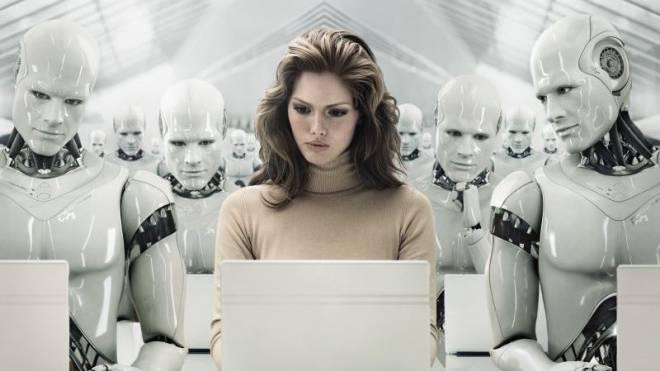 Maschinen mit künstlicher Intelligenz übernehmen immer mehr Aufgaben im Dienstleistungssektor. Das kann zu einer grossen Belastung unseres Sozialsystems werden. Foto: Getty Images
