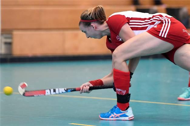 Stephanie Wälti (Rotweiss) wurde zur besten Spielerin gekürt.