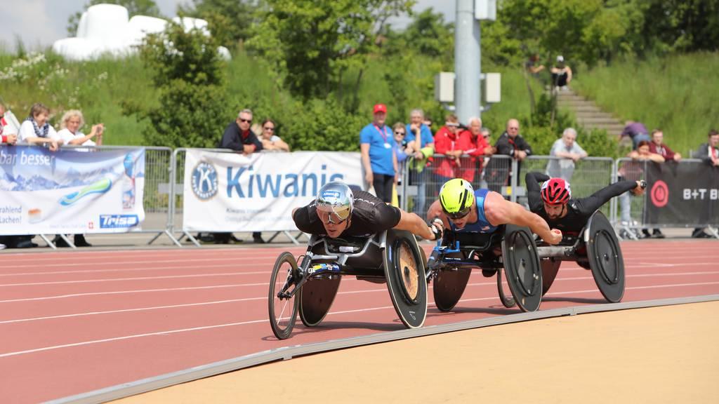 Weltelite der Leichtathleten mit Handicap trifft sich in Nottwil
