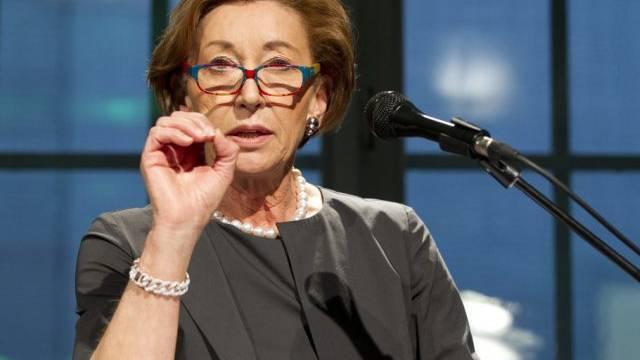 Kommunikationsfrau Beatrice Tschanz lernt gern noch dazu (Archiv)