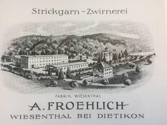Textilfabrik Froehlich im Wiesental