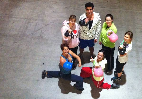 Seit August 2012 bietet Sonia Gervilla nun auch Kettlebell Lifting Trainings an