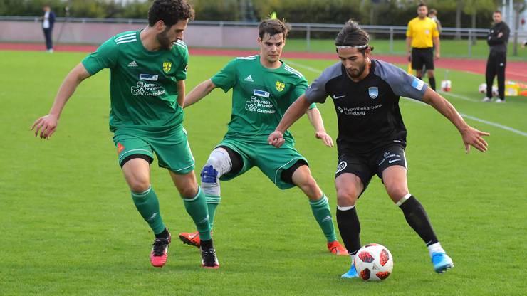 Der FC Lenzburg (r.) machte gebrauch vom SFV-Schutzkonzept und trainierte zuletzt in Kleingruppen und ohne Körperkontakt.