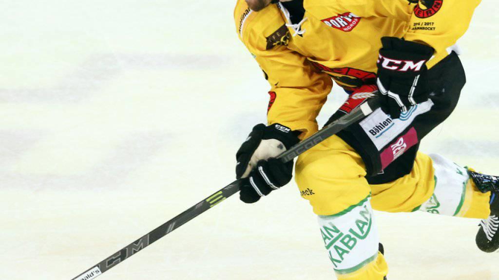 Simon Moser ist neuer Captain des SC Bern.