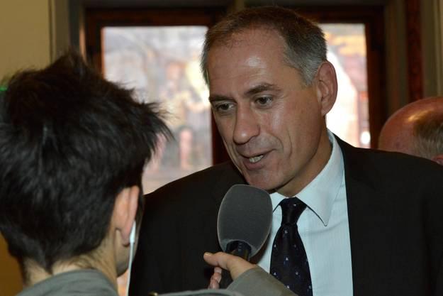 Das Nein ist kein generelles Votum gegen das Tram, meint Regierungsrat Hans-Peter Wessels.
