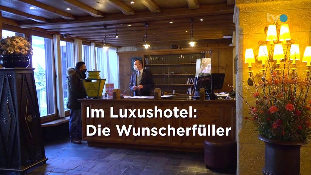 Im Gstaad Palace: Die Wunscherfüller