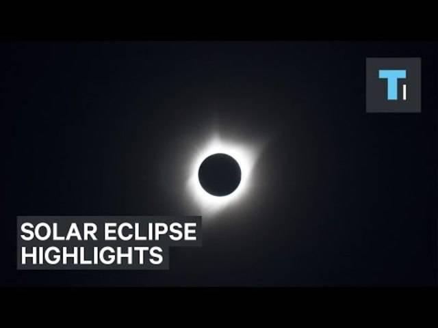 Die Highlights der totalen Sonnenfinsternis in den USA