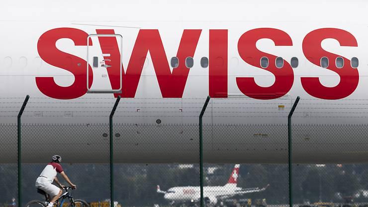 Mehr Passagiere, aber schlechtere Auslastung: Die April-Bilanz der Airline Swiss ist durchzogen. (Archivbild)