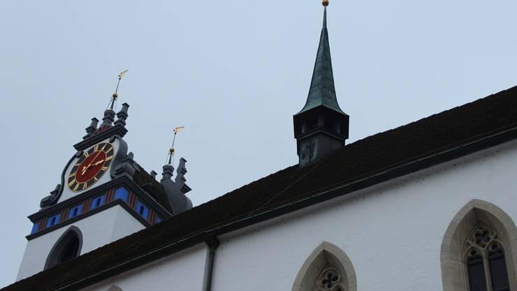 Die kleinste Glocke (81 Kilogramm) im Dachreiter ertönt nun regelmässig zusammen mit den grossen. kus