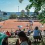 Im Tennis-Interclub hält sich der Zuschaueraufmarsch selbst in der Nationalliga A in Grenzen.