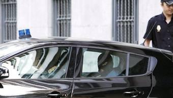 Die Terror-Verdächtigen werden in Madrid ins Gericht gebracht