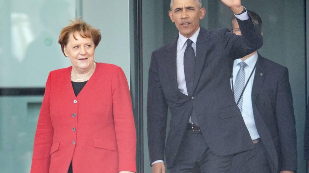 Obama würdigt Merkel für ihren «unerbittlichen» moralischen Kompass