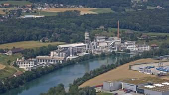 Immer wieder eindrücklich: Das ehemalige Borregaard-Industrieareal Attisholz Nord, das einer neuen Nutzung zugeführt werden soll.