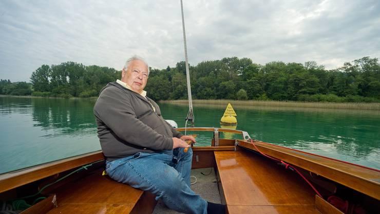 Der Hobby-Kapitän will dafür kämpfen, dass der Kanton seine eigenen Gesetze einhalten soll, bei der Setzung der Ankerverbotszonen.