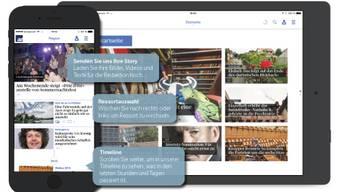 Die neue App fürs Smartphone und iPad ist da.