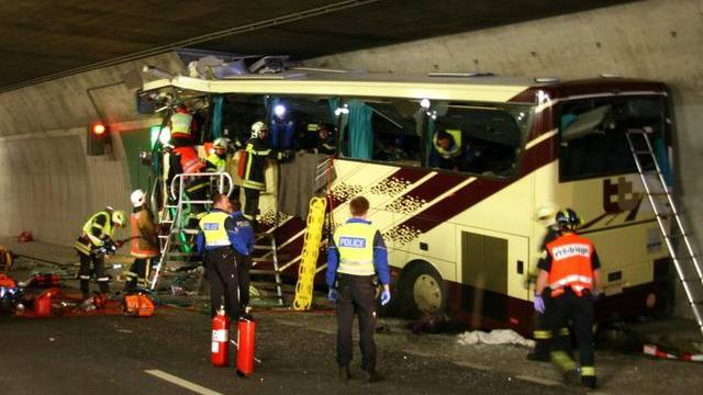 Der belgische Unglücksbus.