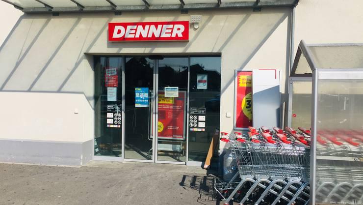 Wieder geöffnet: Der Denner in Döttingen