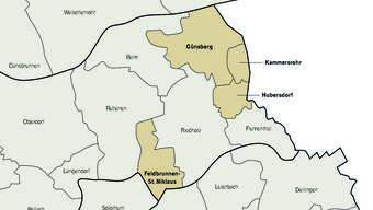 Mit Günsberg und Hubersdorf teilt Kammersrohr die Grenze, mit Feldbrunnen den tiefen Steuerfuss.