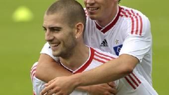 Petric erzielte den ersten Treffer für den HSV