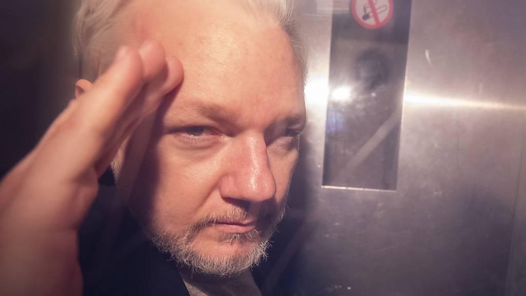 Ärzte fürchten um sein Leben: Der in Grossbritannien inhaftiere Wikileaks-Grüner Julian Assange. (Archivbild)