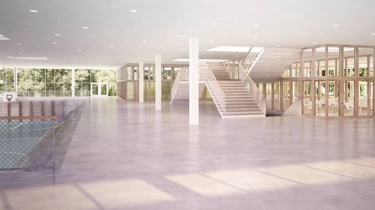 Erdgeschoss Schulanlage Freilager.