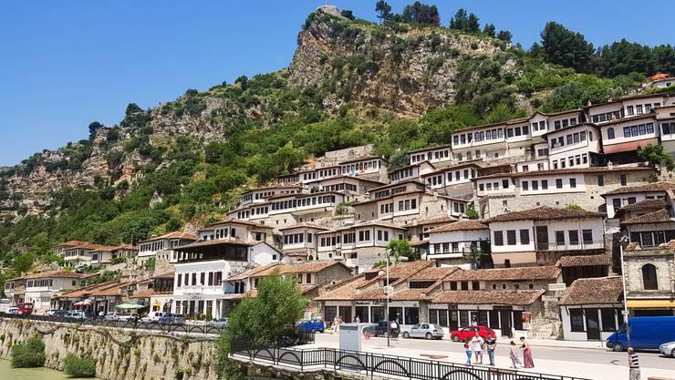 <p>Die Stadt Berat ist ein Weltkulturerbe.</p>