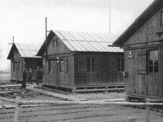 200 bis 300 internierte Polen lebten während des Krieges in Baracken in Kindhausen.