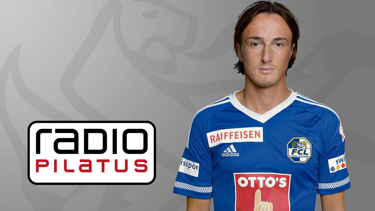 Hekuran Kryeziu kommentiert am Samstag das Cup-Spiel Aarau - FCL gemeinsam mit Radio Pilatus-Sportchef Sämi Deubelbeiss.
