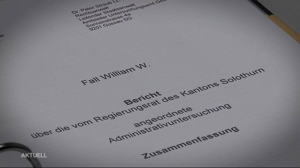 Fall von William W. wird aufgerollt: Kantonsrätin wird bedroht