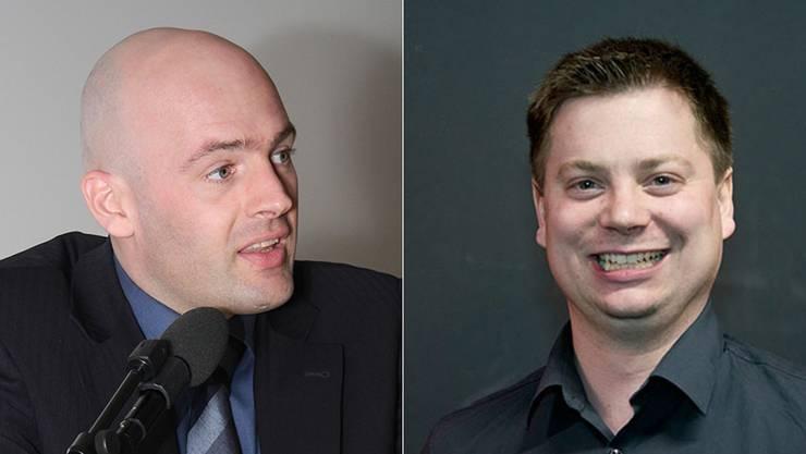 Markus Spielmann und Pascal Walter