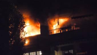 Der Beitrag von Tele M1 zum Brand in Zofingen.