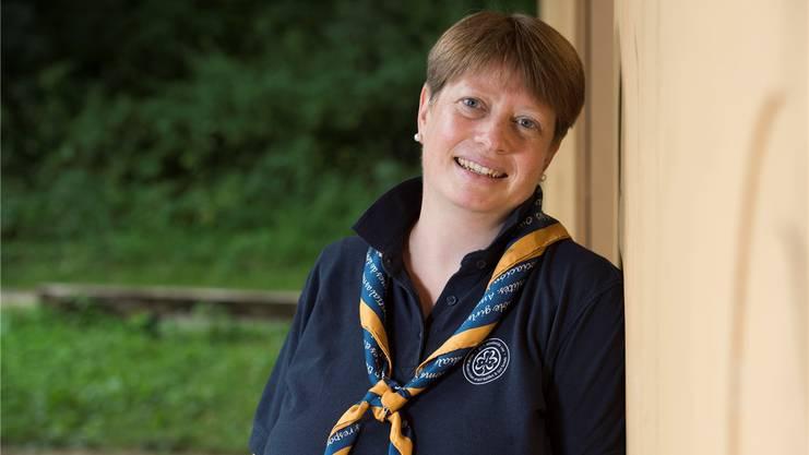 Die Ennetbadnerin Corinna Hauri war für drei Jahre die höchste Pfadfinderin Europas.